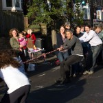 Harcourt Road annual tug-of-war