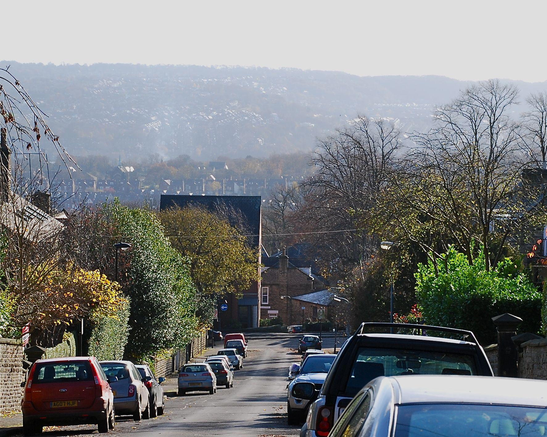 Views across the city