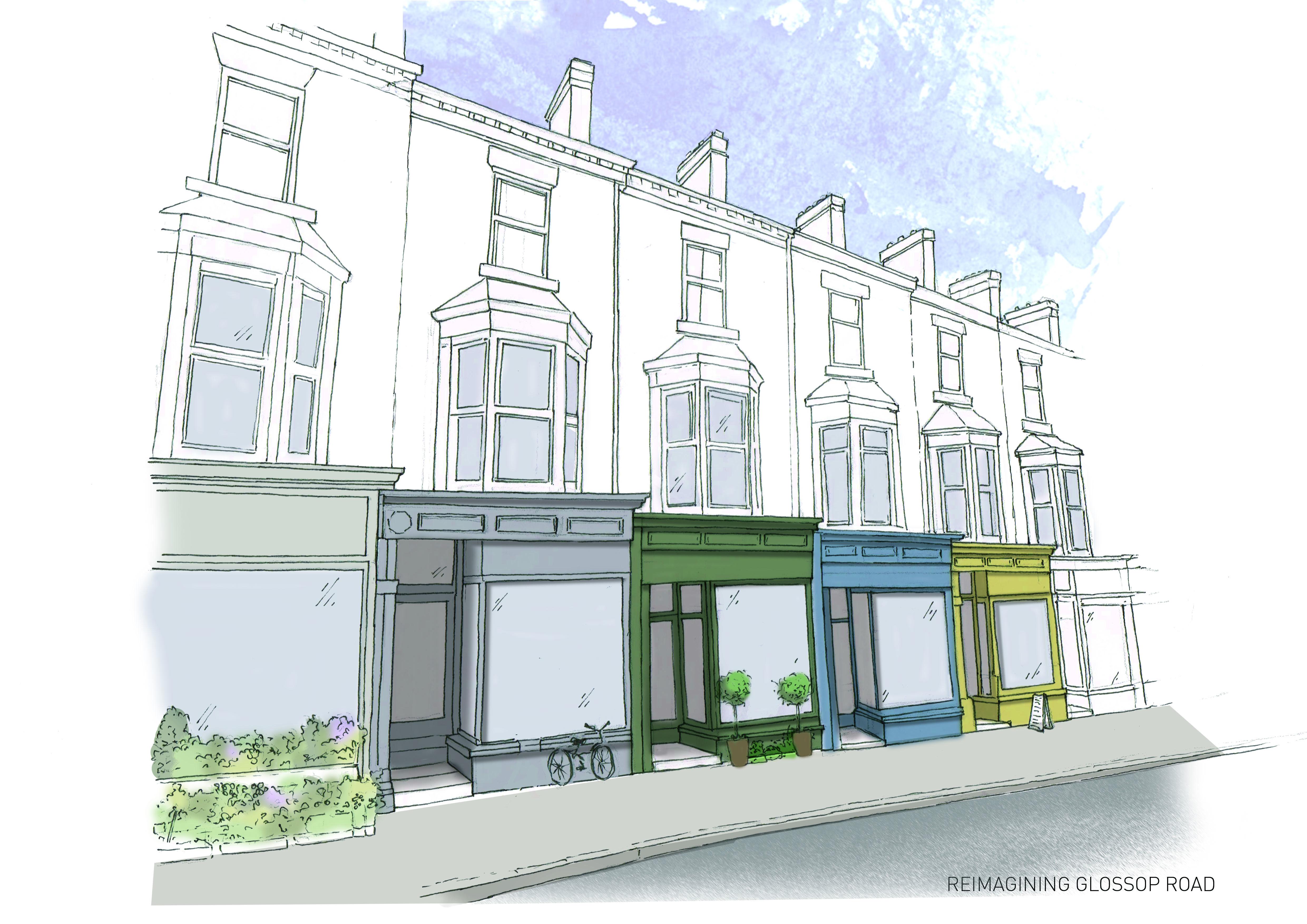 Re-imagining Glossop Road